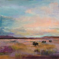 Buffalo Under Big Sky Fine Art Print