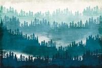 Mountainscape Blue Fine Art Print