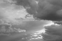 Luminous Clouds I BW Fine Art Print
