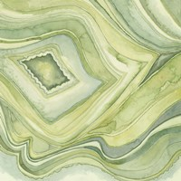 Pastel Agate IV Fine Art Print