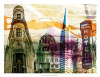 San Francisco Buildings II Fine Art Print