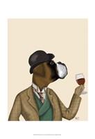 Boxer Wine Snob Fine Art Print