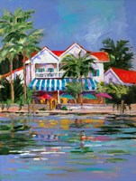 Beach Resort I Fine Art Print