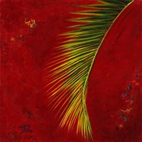 Palmas En Fuego II Fine Art Print