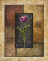 Violet Tulip Fine Art Print