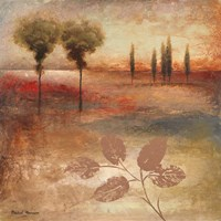 Warm Textural Landscape I Fine Art Print