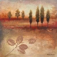 Warm Textural Landscape II Fine Art Print