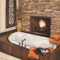 Fireplace Escape I Fine Art Print