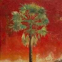 La Palma on Red IV Fine Art Print
