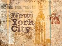 New York Postcard Fine Art Print
