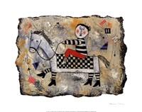 "My Pretty Pony by Barbara Olsen - 12"" x 10"", FulcrumGallery.com brand"
