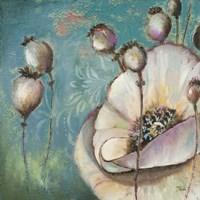 Blue Poppies I Fine Art Print