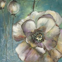 Blue Poppies II Fine Art Print