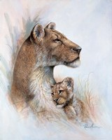Mother's Pride Fine Art Print