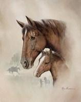 Race Horse I Fine Art Print