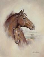 Race Horse II Fine Art Print
