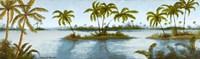 Cool Tropics II Framed Print