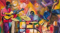 Jazz Trio Fine Art Print