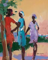 Saturday Morning II Fine Art Print