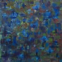 Mixed Emotions in Blue I Fine Art Print