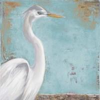 Tropic Heron I Framed Print