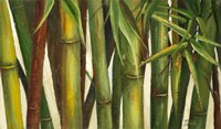 Bamboo on Beige I Fine Art Print