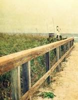 Beach Rails I Fine Art Print