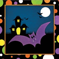 Halloween Bat Fine Art Print