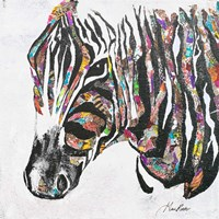 Safari Collage I Fine Art Print
