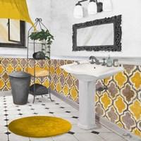 Sundance Bath II (yellow) Fine Art Print