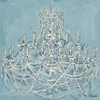 New Chandelier I Fine Art Print