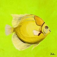 Bright Aquatic Life III Fine Art Print