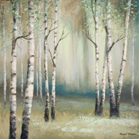 Late September Birch I Fine Art Print