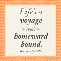 Life is a Voyage Fine Art Print