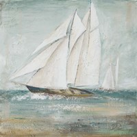 Cape Cod Sailboat I Framed Print