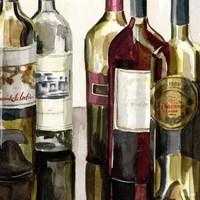 B&G Bottles Square I Fine Art Print