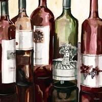 B&G Bottles Square II Fine Art Print