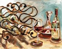 Decanter and Wine Fine Art Print