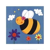 """Mini Bugs II by Sophie Harding - 8"""" x 8"""""""