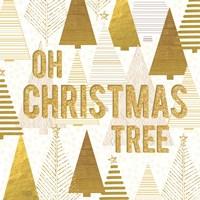 Christmas Jingle Tree II Framed Print