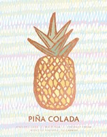 Tropical Drinks I Framed Print
