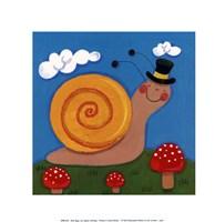"Mini Bugs I by Sophie Harding - 8"" x 8"""