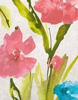 Blue and Pink le Povat  II Fine Art Print
