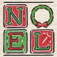 Noel and Santa II Fine Art Print