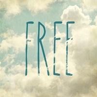 Free In The Clouds Fine Art Print