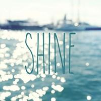 Shine In The Ocean Fine Art Print