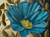Simple Blue Garden II Framed Print
