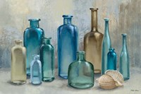 Glass Bottles Fine Art Print