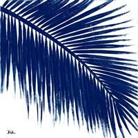 Indigo Baru Palm II Fine Art Print