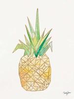 Origami Pineapple Fine Art Print